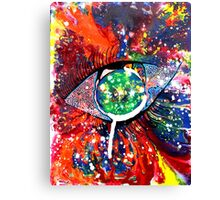 CRAZY EYE Canvas Print