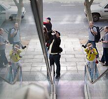 Elevator reflections by henleyhelen