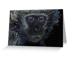 Monkey Monkey. Greeting Card