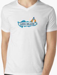 Long Island - New Yokr. Mens V-Neck T-Shirt