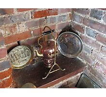 An Old Copper Kettle Photographic Print