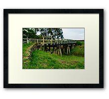 Lowndes Bridge Framed Print