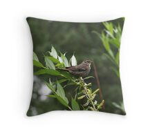 ? Bird, Cheyenne Throw Pillow