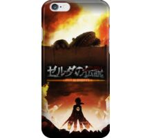 Attack on Imprisoned iPhone Case/Skin