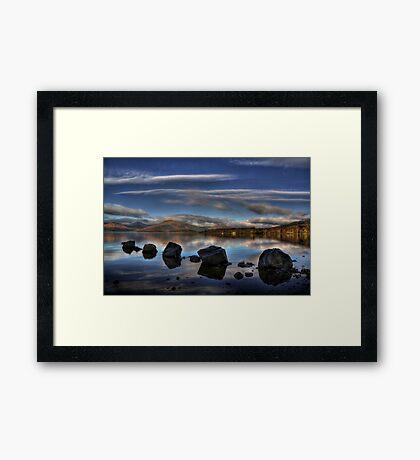 Milarrochy Rocks Framed Print
