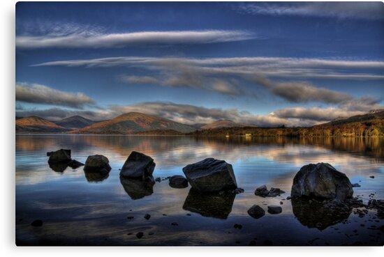 Milarrochy Rocks by Karl Williams
