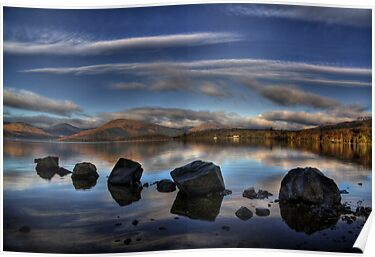 Milarrochy Rocks by Karl Williams