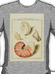 Neues systematisches Conchylien-Cabinet - 100 - Nautili teaues Sracui and Nautilus crassus concameratus T-Shirt