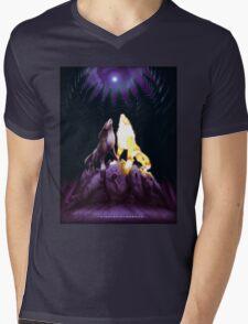 Twilight Symphony Mens V-Neck T-Shirt