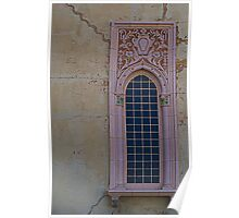 Pink Window Poster