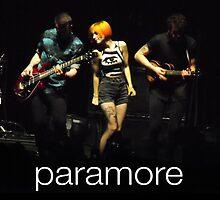 Paramore - Hayley Williams, Jeremy Davis, and Taylor York by LizzieElliott