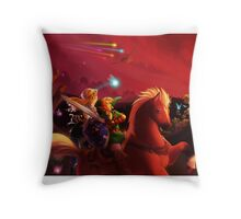 War Without End Throw Pillow