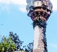 Tangled Tower in Disney World by fitzsimmonns