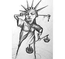 Liberty nooooo! Photographic Print