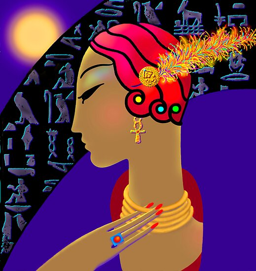 'Hollywood Nefertiti' Night on the Nile by luvapples downunder/ Norval Arbogast