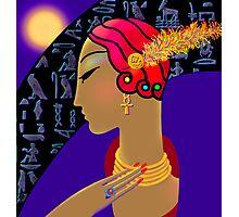 'Hollywood Nefertiti' Night on the Nile Photographic Print
