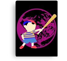 Super Smash Bros Ness Canvas Print