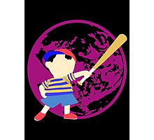 Super Smash Bros Ness Photographic Print