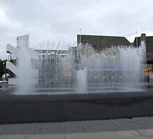 Water Fountain  by Marie Brown ©