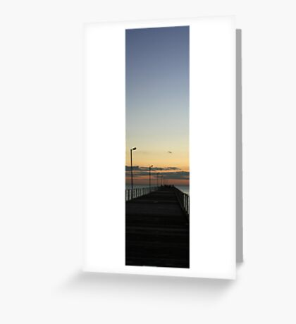 Semaphore Jetty, Adelaide Greeting Card