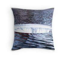 The Hole In The Ocean Layer Throw Pillow