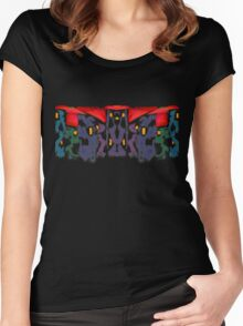 Sunset Cityscape Women's Fitted Scoop T-Shirt