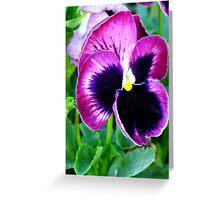 Flower V Greeting Card