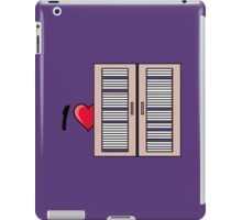 I love I heart windows iPad Case/Skin