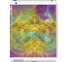Obeisance to Nature , digital abstract iPad Case/Skin