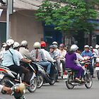 Ho Chi Minh City Traffic by sarahric