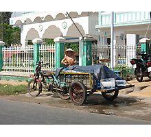 Vietnam Ice Truck Photographic Print