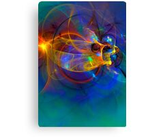 Goldfish opera Abstract Canvas Print