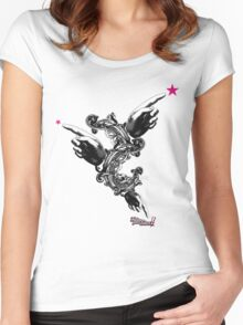 Follow your star ! Women's Fitted Scoop T-Shirt