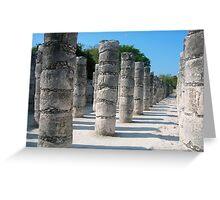Chichen Itsa  ancient Mayan City   -  Mexico Greeting Card
