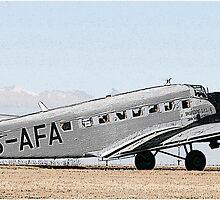 Junkers JU-52 by Paul Lindenberg