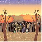 Over the Garden Pixel by trollfish