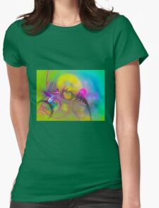 Flight of Icarus Womens Fitted T-Shirt