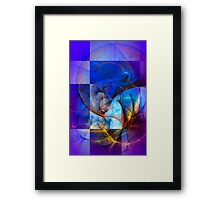 Wind in your sails Framed Print