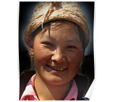 Hilltribe Girl, North Vietnam Poster