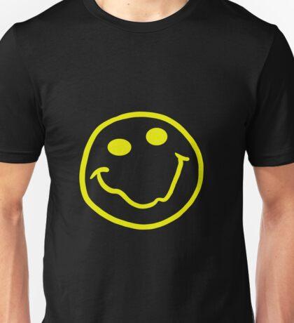 Nirvana style smiley face yellow Unisex T-Shirt