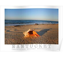 Nantucket Island Poster Poster