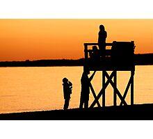 Hardings Beach at Sunset- Chatham, Cape Cod Photographic Print