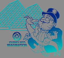 Journey into Imagination with Dreamfinder and Figment Gray by Jou Ling Yee