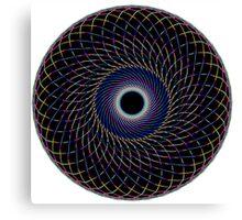 Multi Colored Swirl 1 Canvas Print