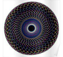 Multi Colored Swirl 1 Poster
