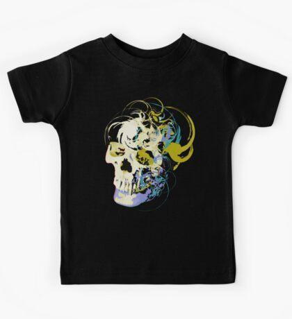 Gold Skull Kids Tee