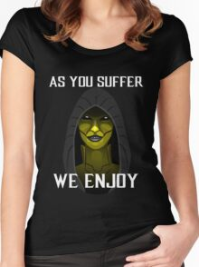 D'vorah as you suffer Women's Fitted Scoop T-Shirt