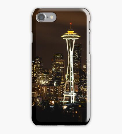 Seattle Night Lights iPhone Case/Skin