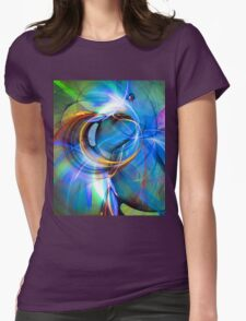 Birth of the butterfly Womens Fitted T-Shirt