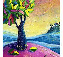 The Leafy Baobab Photographic Print